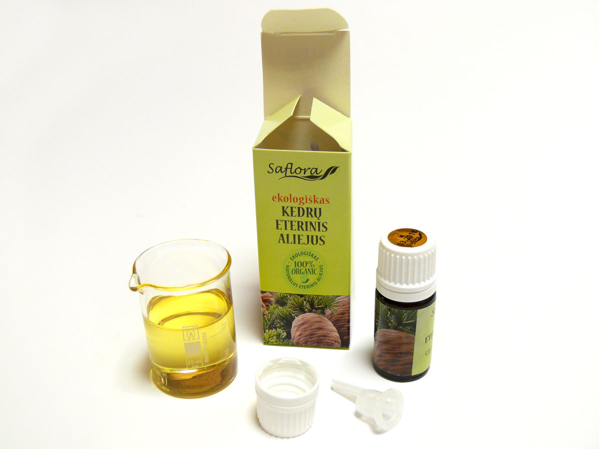 Cedarwood Oil Saflora