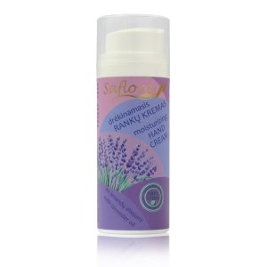 hand cream with lavender essential oil