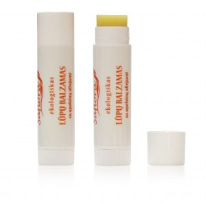 Orange lipbalm White